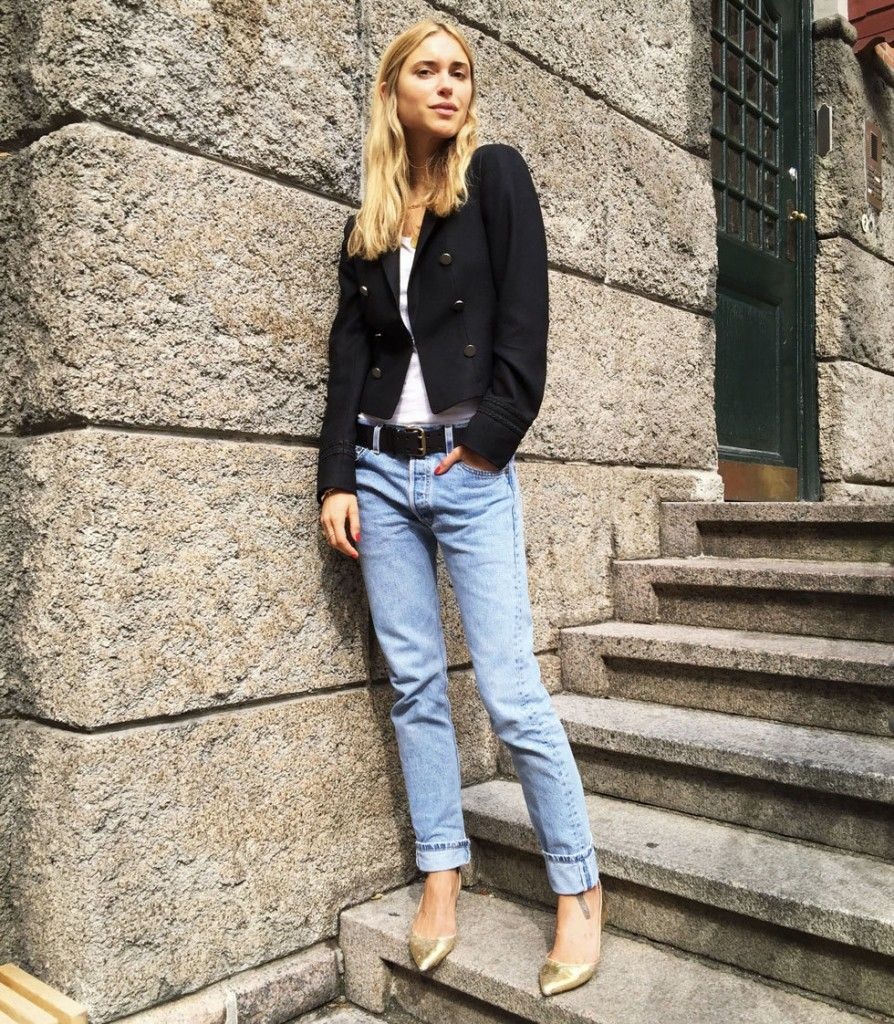 Pernille Teisbaek and the cropped jacket: