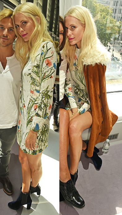 Poppy Delevingne wearing