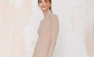 ribbed-knit-asymmetrical-hem-maxi-dress-stella-mccartney-nasty-gal