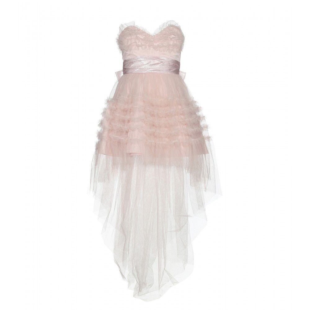 saint-laurent-pink-ruffled-tulle-dress-fall-2015