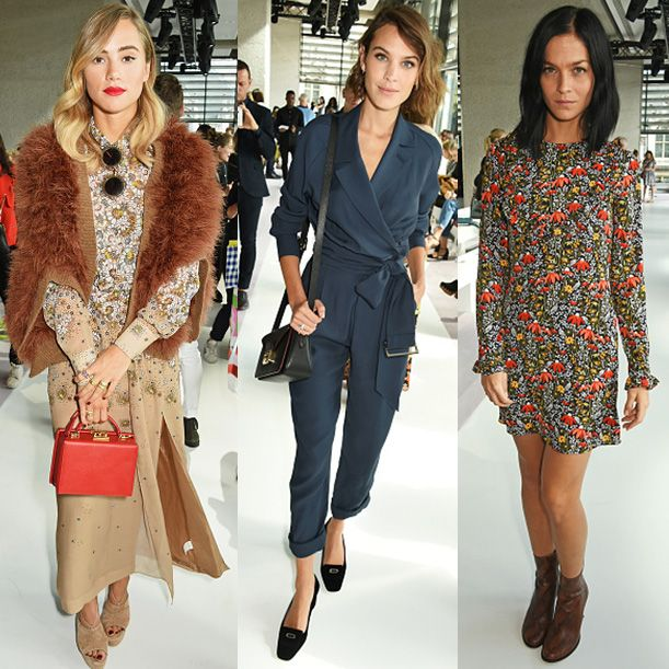 Suki Waterhouse, Alexa Chung and Leigh Lezark