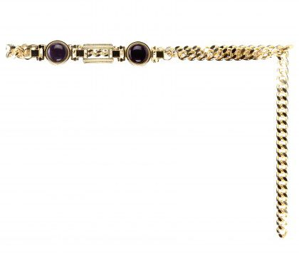 Alessandra Rich chain belt