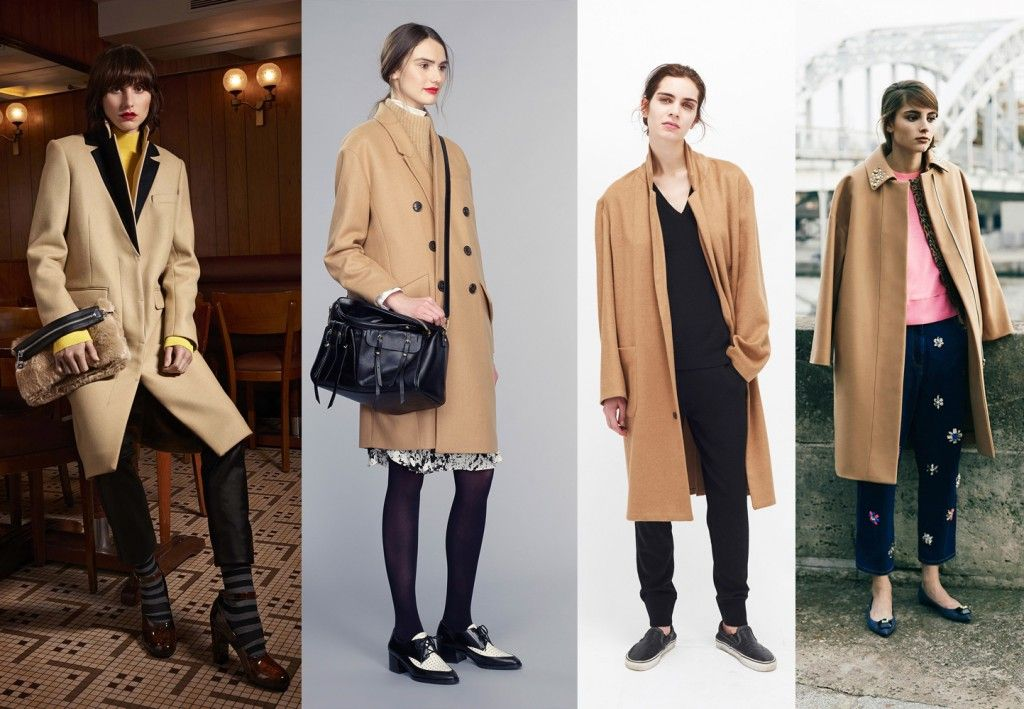 Camel coats Fall 2015