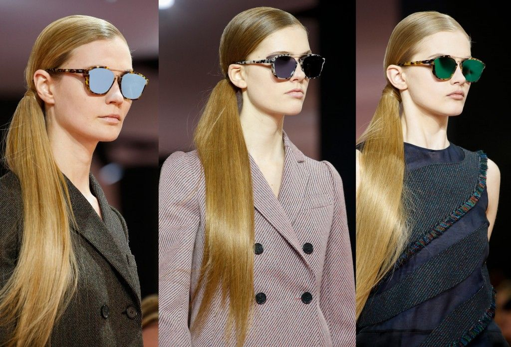The sunglasses on the Fall 2015 runway