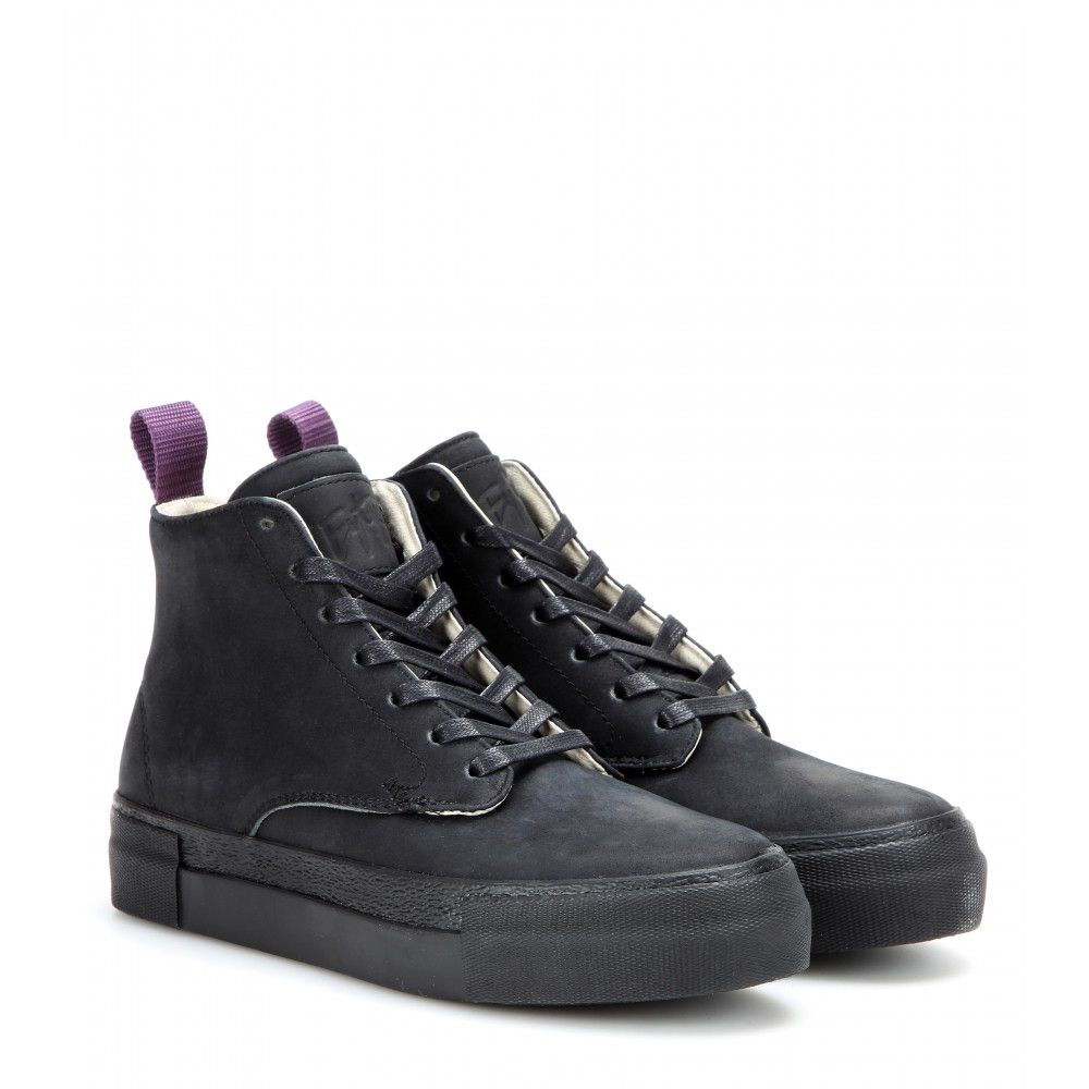 The Eytys Odyssey leather high-top sneakers are available at MYTHERESA.com