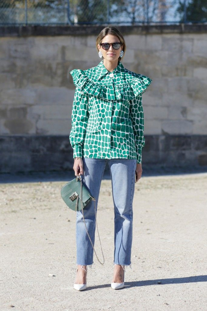 Helena Bordon out and about Paris during Fashion Week SS16 (Photo credit: Team Peter Sirtger)