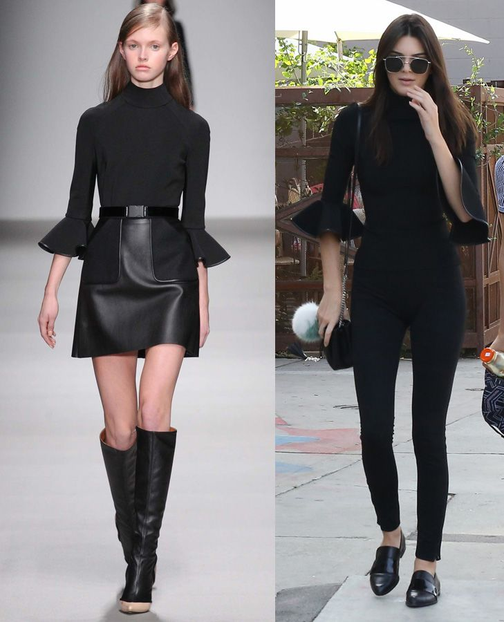 Kendall Jenner in David Koma FW15
