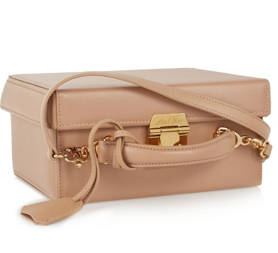Diane's Mark Cross Grace large taupe leather shoulder bag is available at NET-A-PORTER