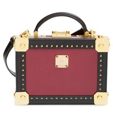 MCM Berline series Box Crossbody Bag available at SHOPBOP.com