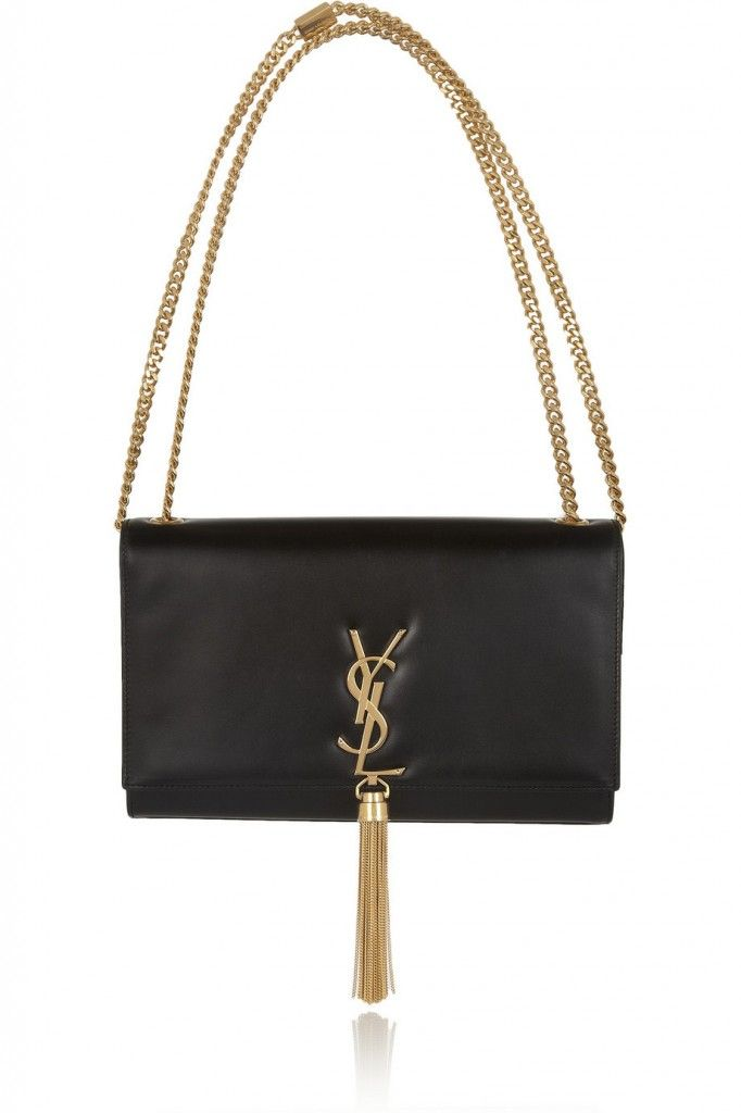 Veronika's Saint Laurent Monogramme leather shoulder bag is available at NET-A-PORTER