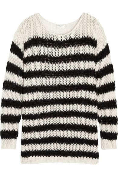 saint-laurent-striped-wool-blend-sweater