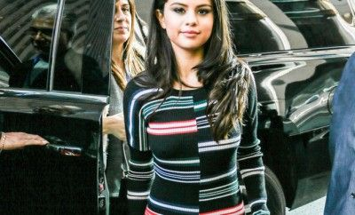 Selena Gomez Arrives At SiriusXM Radio In NYC