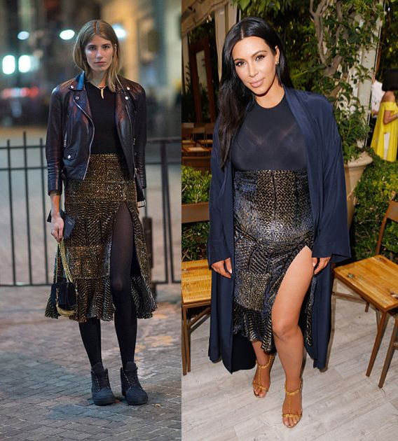 BALMAIN X H&M Collection Launch - Street Style