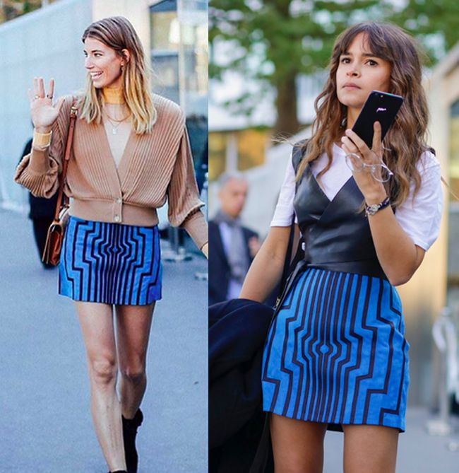 Veronika Heilbrunner and Miroslava Duma out in Paris for Fashion Week Spring 2016