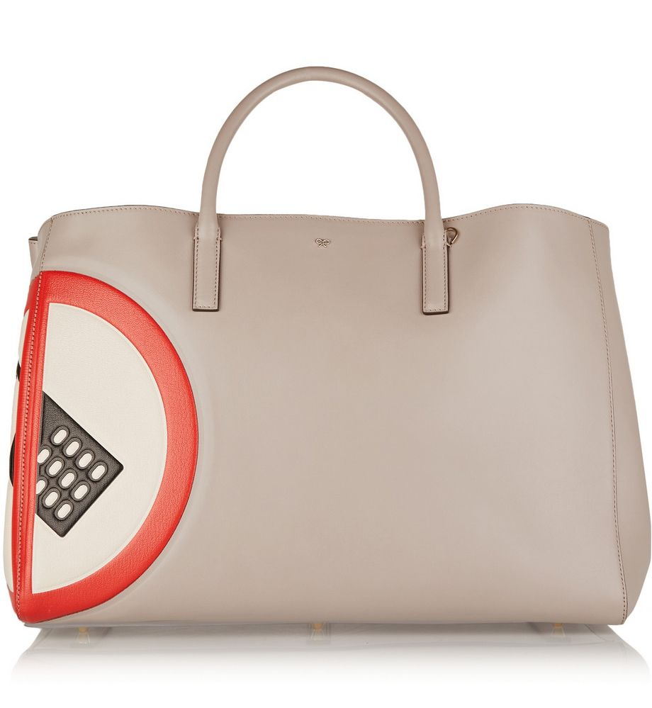 Anya Hindmarch no Mobile leather tote 50% off available HERE