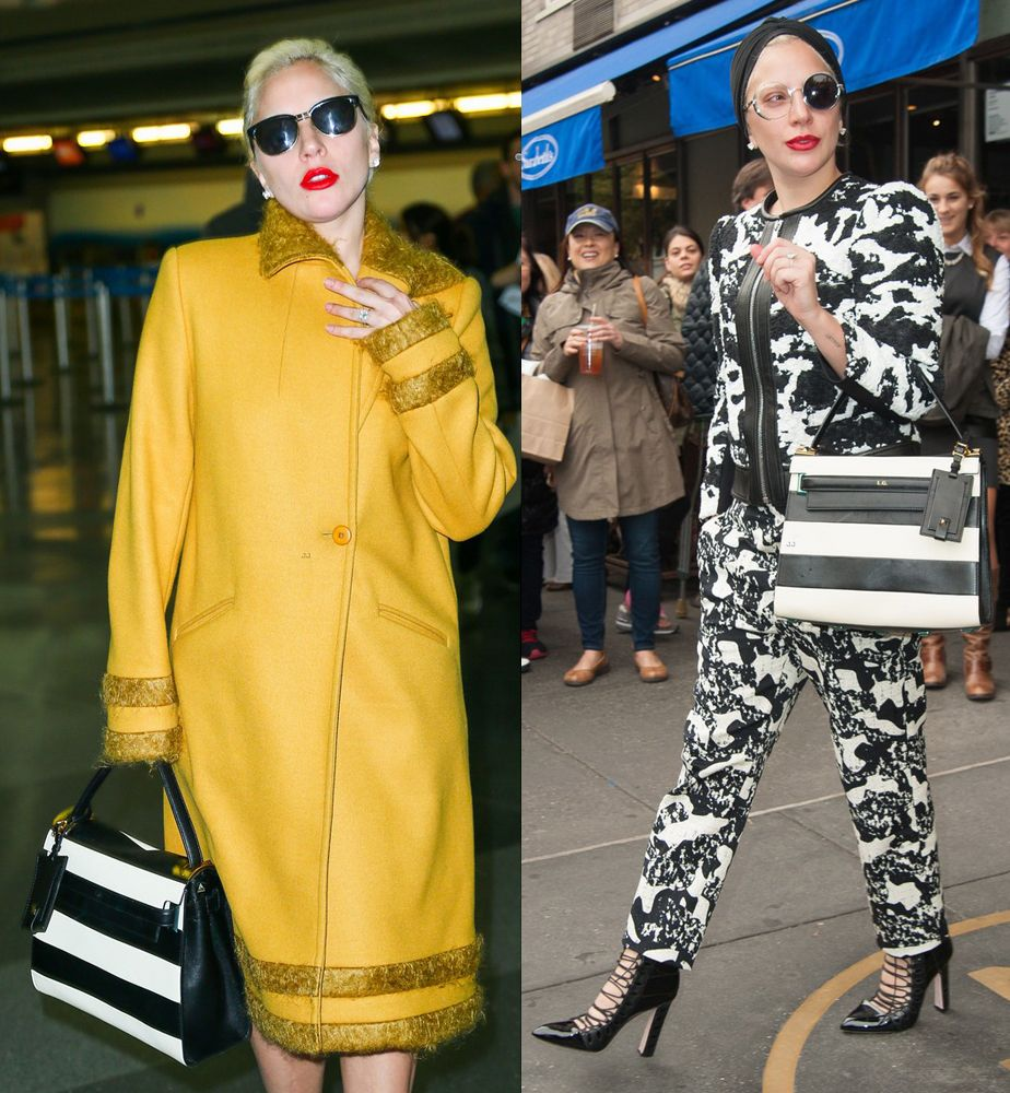 Lady Gaga out and about New York City, october 2015.