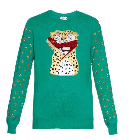 Charlotte Olympia X Karen Elson sweater available at MATCHESFASHION.com