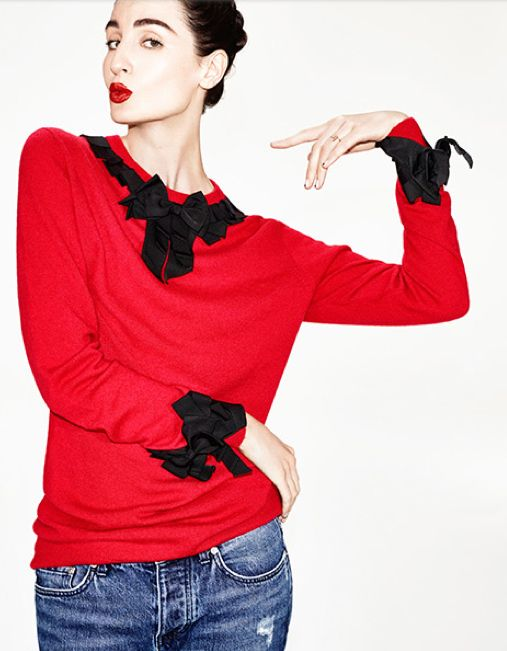 Gileed Deacon X Erin O'Connor sweater available at MATCHESFASHION.com