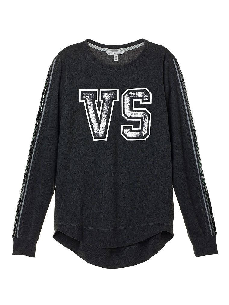 VS Fashion Show oversized tunic with sequins available at VICTORIASSECRET.com
