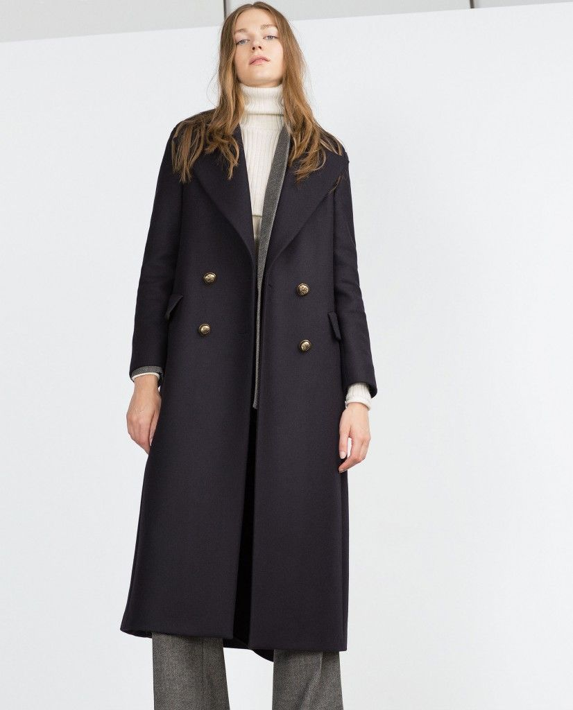 blue is the new camel navy wool blend coats that 39 ll make you look smart and stylish laiamagazine. Black Bedroom Furniture Sets. Home Design Ideas