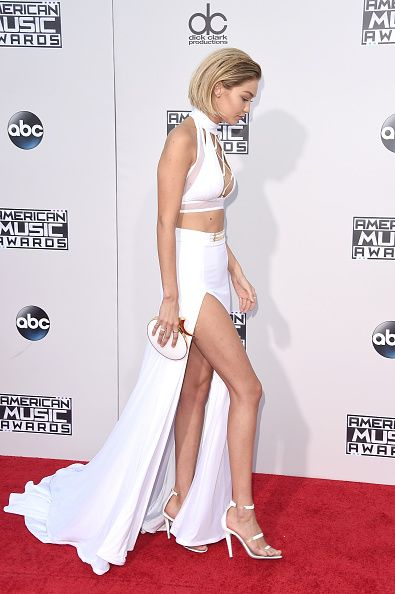 Gigi Hadid owns them in white. aVAILABLE AT tamaramellon.COM