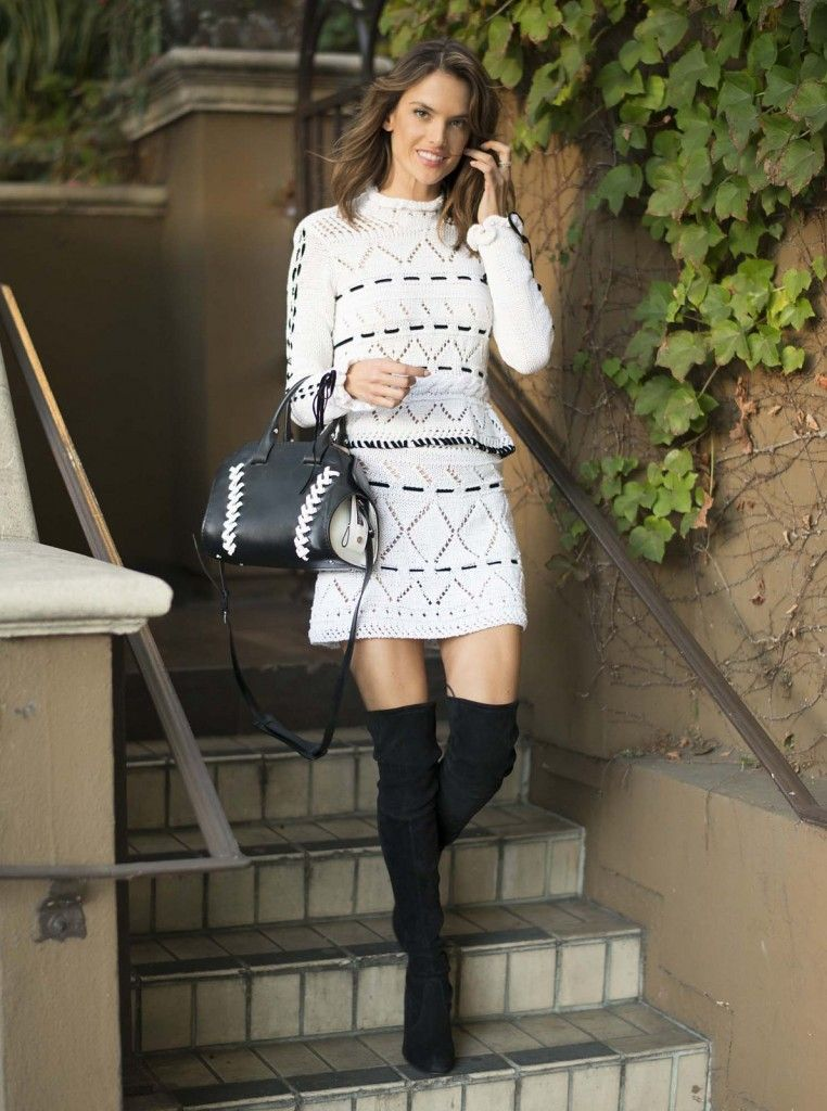 X Christmas in L.A. like Alessandra Ambrosio :)