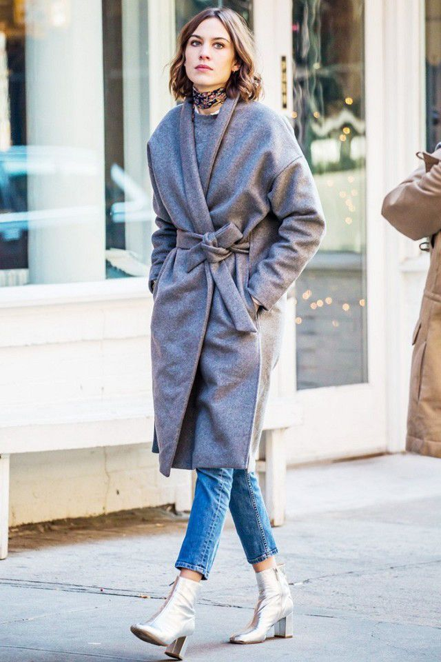 This is how Alexa Chung is styling her winter wardrobe