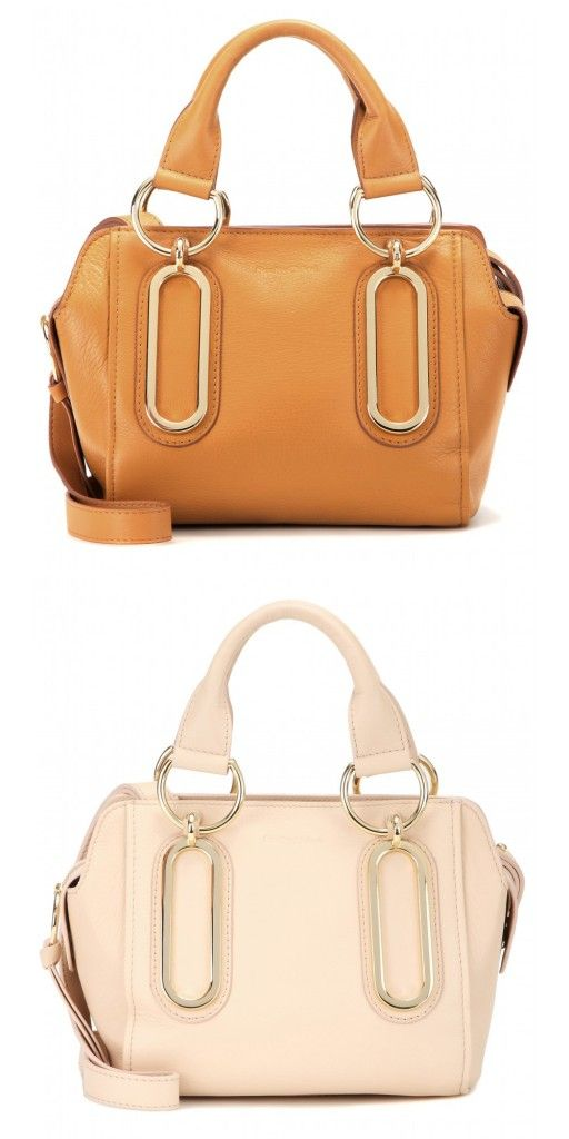 See by Chloé Paige cognac leather shoulder bag available at MYTHERESA.com