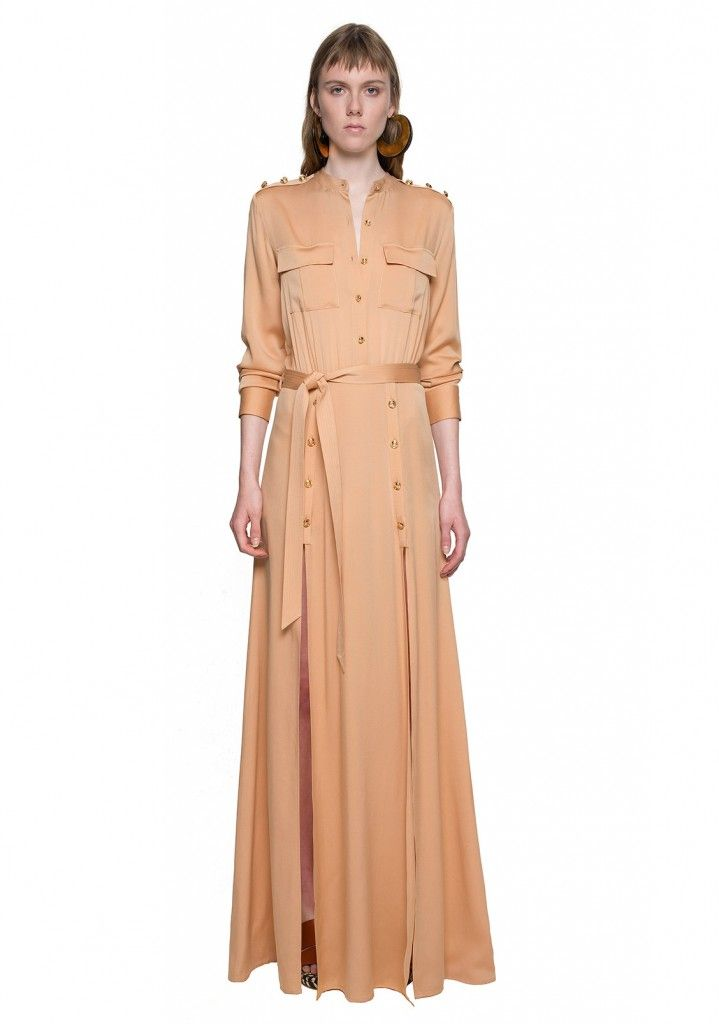 self-portrait-militaire-crepe-shirt-maxi-dress-resort-2016