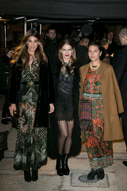 BFF's Bianca Brandolini, Eugenie Niarchos and Margherita Missoni