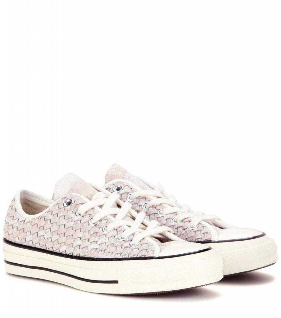 Converse Chuck Taylor All Star woven suede sneakers available at MYTHERESA.com