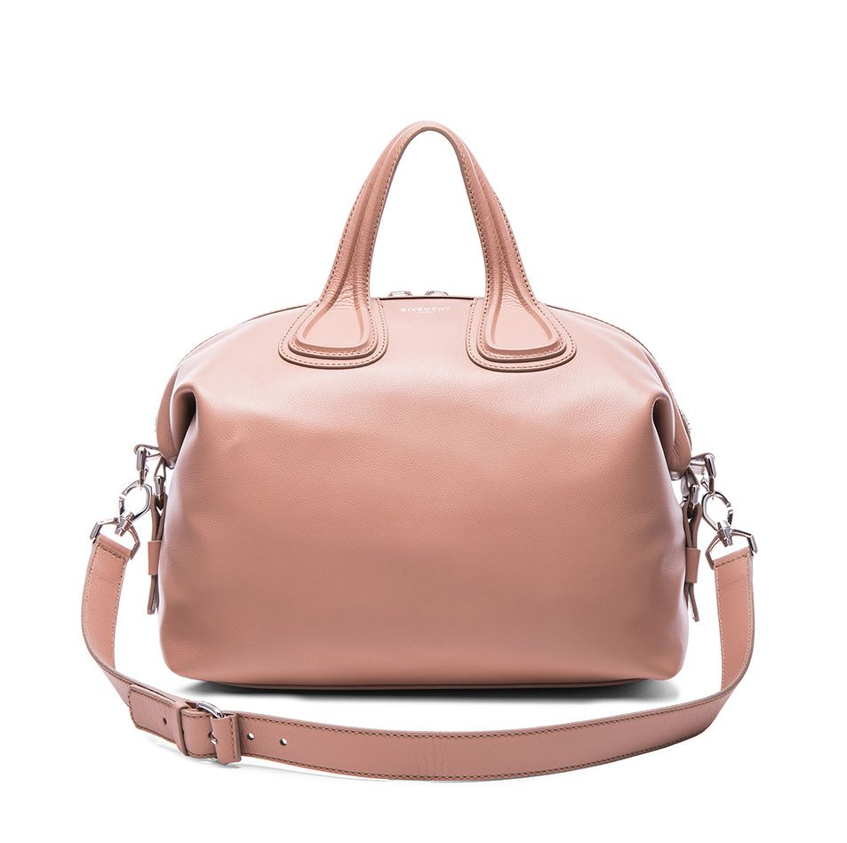 Givenchy medium Nightingale in old pink leather available at FORWRD BY ELYSE WALKER