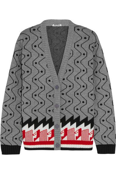 miu-miu-gray-red-black-white-intarsia-wool-retro-cardigan-spring-2016
