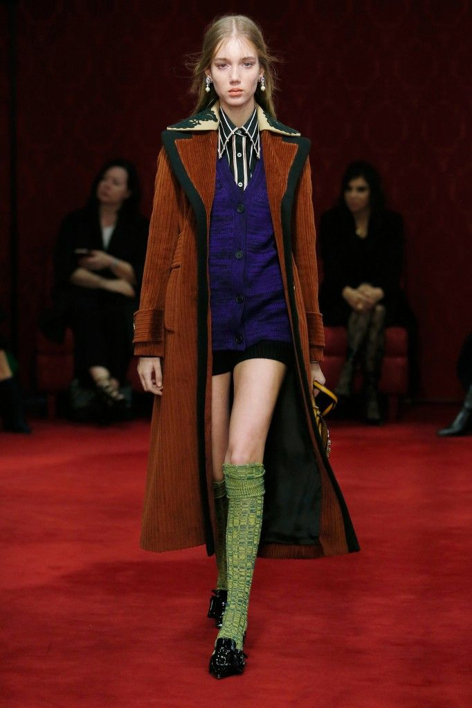 Miu Miu Pre-Fall 2016 or how to style knee socks