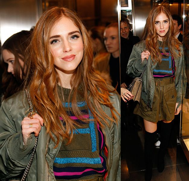 Chiara Ferragni at the  DIESEL Celebrates Madison Avenue Flagship - After Party on February 13, 2016 in New York City.  (Photo by Paul Morigi/Getty Images for DIESEL)