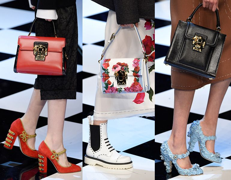 Dolce & Gabbana FW16 bags and shoes