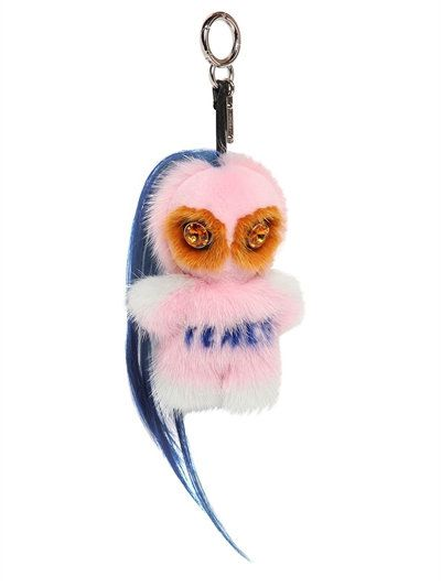 Fendirumi Piro-chan fur monster charm avilable at  LUISAVIAROMA.com