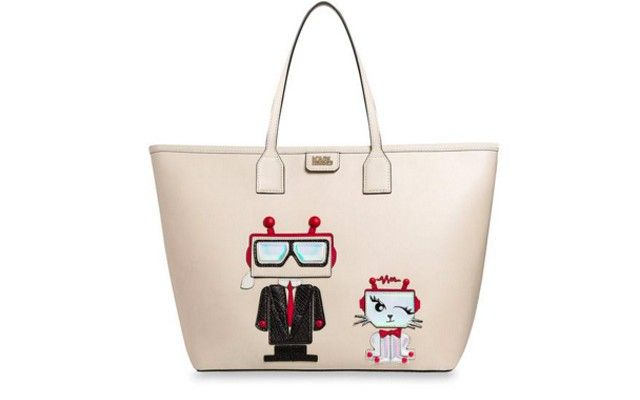 karl-lagerfeld-robot-karl-choupette-leather-tote-bag