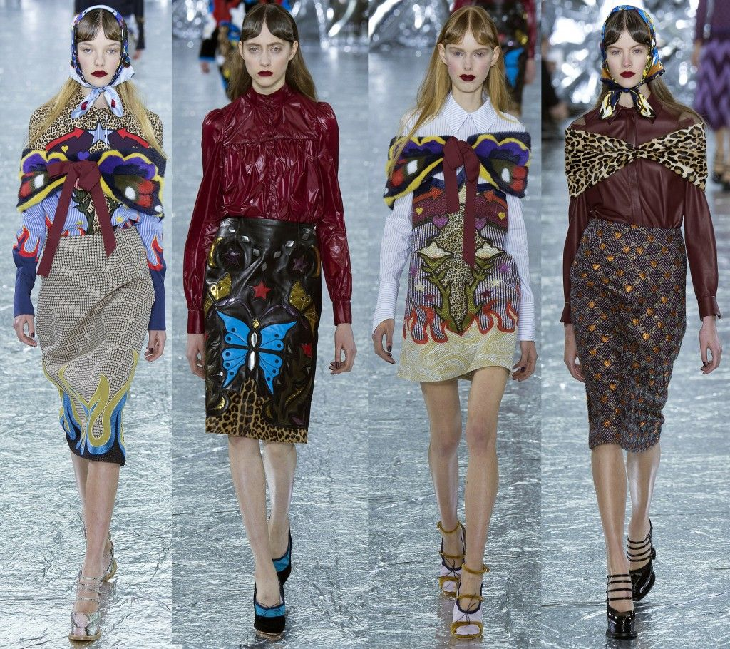 Mary Katrantzou Fall 2016