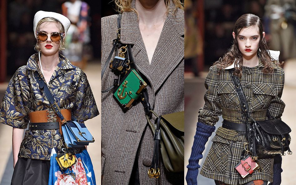 Prada FW16 runway show. Prada FW16 runway show. Prada just landed its Fall  Winter 2016 collection ... 402db7c36d67b