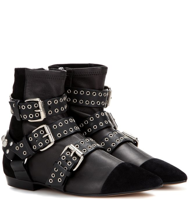 isabel-marant-rolling-eyelets-ankle-straps-boots-fw16-collection