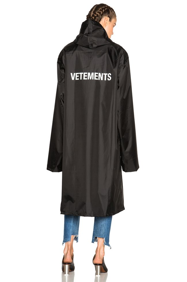 * Vetements rain coat available at FORWARD BY ELYSE WALKER
