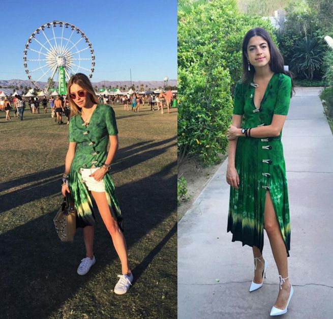 To Coachella (Pernille Teisbaek) and beyond (Leandra Medine): both in Altuzarra