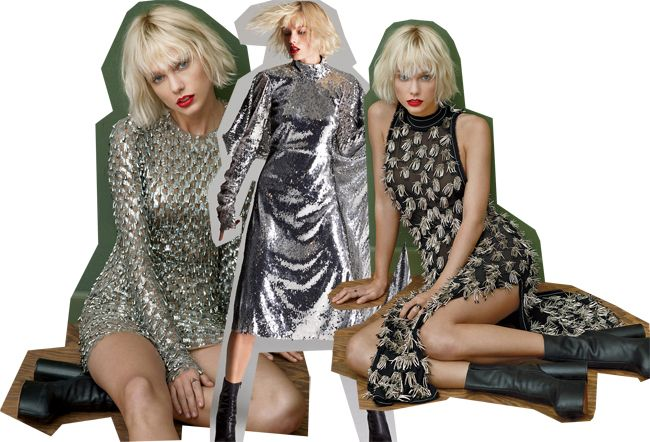 Taylor Swift wore the same dress for vOGUE magazine back in May.
