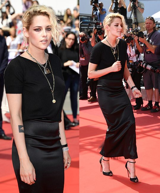 Kristen Stewart attends the 'American Honey' premiere during the 69th annual Cannes Film Festival at the Palais des Festivals on May 15, 2016 in Cannes, France. (Photo by Ian Gavan/Getty Images)