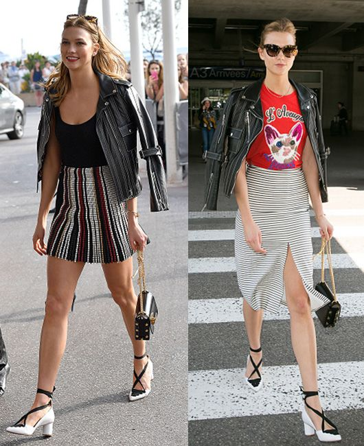 Karlie Kloss out and about Cannes during its International Film Festival.