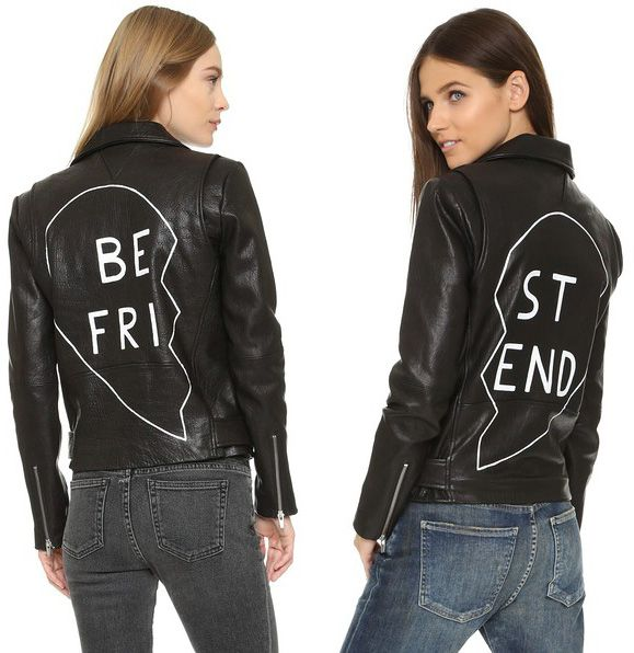 Veda Jayne Best Friend leather jacket available HERE and HERE (at SHOPBOP.com)