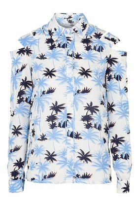 TopShop's palm tree print shirt by Jovonna available HERE