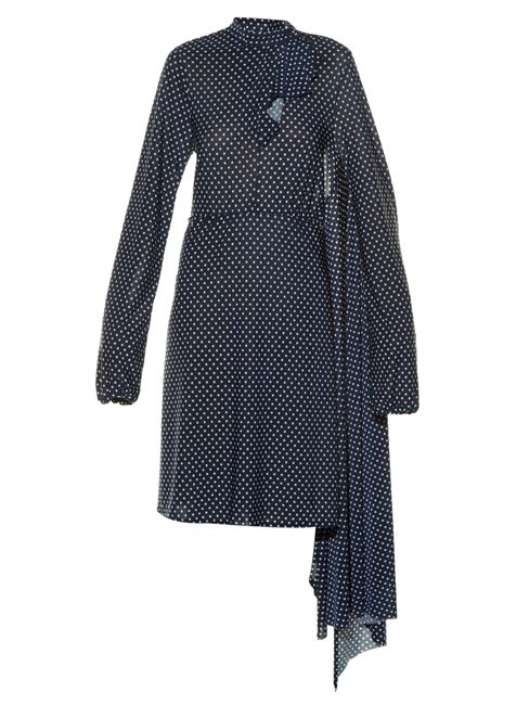 Vetements open-back polka-dot print dress available at MATCHESFASHION.com