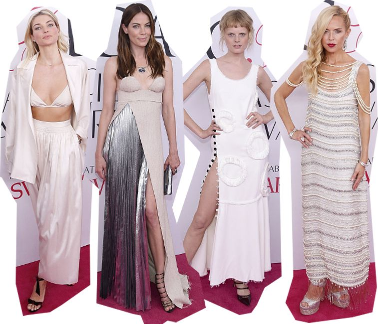 Jessica Hart, Michelle Monaghan, Hanne Gaby Odiele and Rachel Zoe.